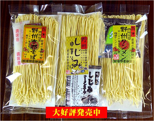 星野製麺人気商品